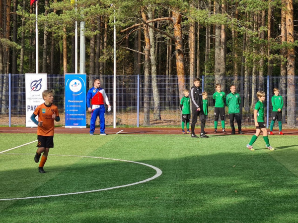 opening of new sports grounds on the basis of voenmeh raketa 2020 4