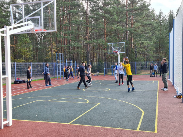 opening of new sports grounds on the basis of voenmeh raketa 2020 5